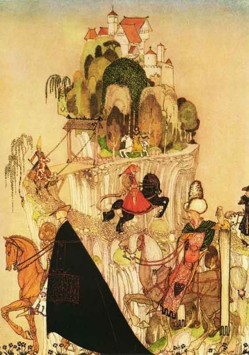 Riding Out to Woo de Kay Rasmus Nielsen (1886-1957, Denmark) | Reproduction Peinture | WahooArt.com