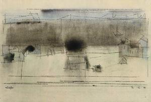 Lyonel Feininger - Untitled 3