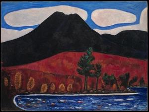 Marsden Hartley - Mt. Katahdin, dans le Maine, n ° 2