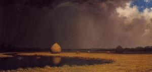 Acheter Reproductions D'art De Musée | Sel Marsh Hay, 1866 de Martin Johnson Heade (1819-1904, United States) | WahooArt.com