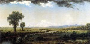 Martin Johnson Heade - Storm Clouds sur les marais du New Jersey