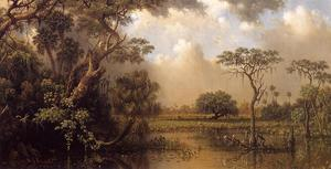 Martin Johnson Heade - La Grande Florida Marsh
