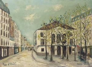 Maurice Utrillo - Rue d Orsel