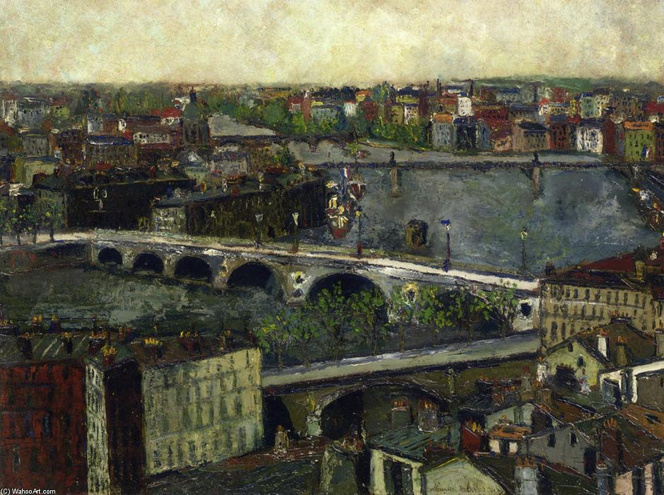 le ponts des toulouse de Maurice Utrillo (1883-1955, France) | Copie Tableau | WahooArt.com
