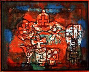 Paul Klee - chinois porcelaine