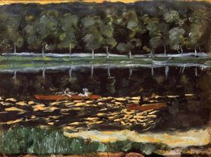 Pierre Bonnard - Going Aviron
