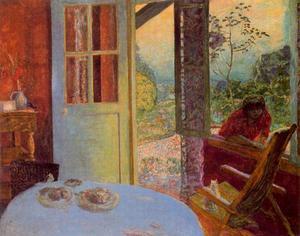 Dining dans le campagne de pierre bonnard 1867 1947 france for Salle a manger a la campagne bonnard
