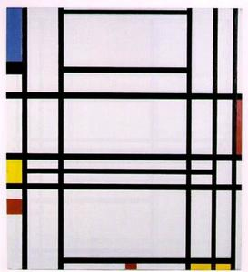 Piet Mondrian - Composition 10