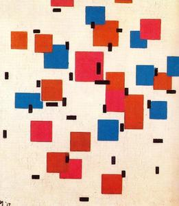 Piet Mondrian - Composition en couleur A