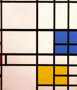 Piet Mondrian - Composition de Londres