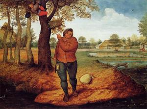 Pieter Bruegel The Younger - Le Batteur