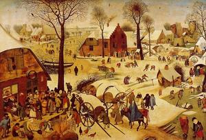 Pieter Bruegel The Younger - Le recensement à Bethléem