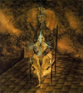 Remedios Varo - Femme assise