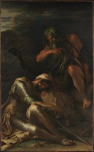 Salvator Rosa - le rêve of Enée 3
