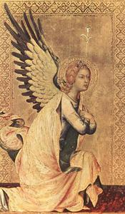 Simone Martini - Le Angel of l annonciation 1