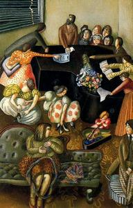 Stanley Spencer - Au Piano