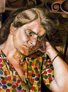 Stanley Spencer - Portrait de Hilda Carline 1
