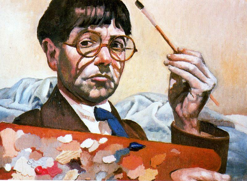 Self-Portrait 2 de Stanley Spencer (1891-1959, United Kingdom)