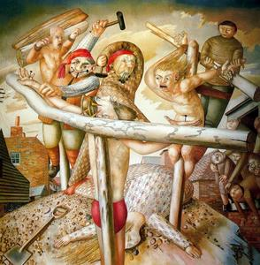 Stanley Spencer - la Crucifixion