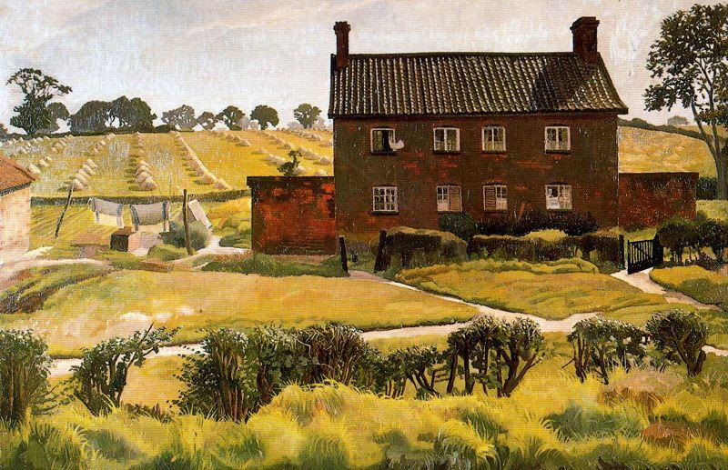 The Red House. Wangford de Stanley Spencer (1891-1959, United Kingdom)