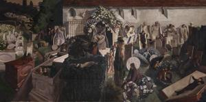 Stanley Spencer - la résurrection , Cookham