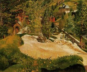 Stanley Spencer - Zermatt