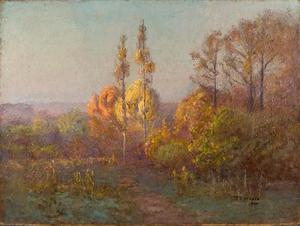Theodore Clement Steele - Dans Crooked Creek Valley