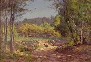 Theodore Clement Steele - paysage au 11