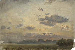 Theodore Clement Steele - paysage au 19