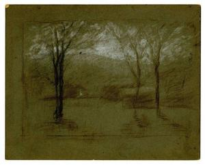 Theodore Clement Steele - paysage au 7
