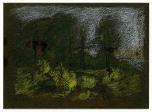 Theodore Clement Steele - paysage croquis 6