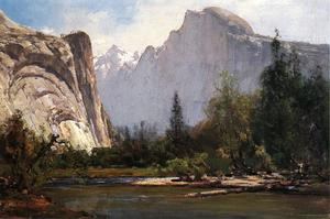 Thomas Hill - Arches royaux et Half Dome, Yosemite