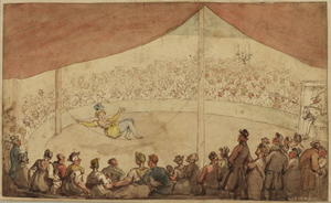 Thomas Rowlandson - cirque