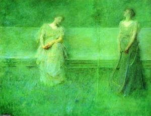 Thomas Wilmer Dewing - le chanson