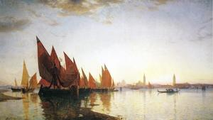 William Stanley Haseltine - à Venise