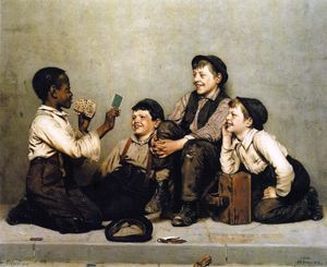 John George Brown - une carte artifice