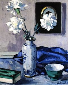 Francis Campbell Boileau Cadell - Oeillets