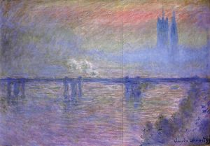 Claude Monet - Pont de Charing Cross