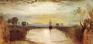 William Turner - canal chichester