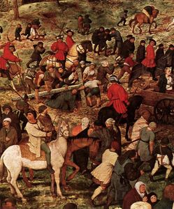 Pieter Bruegel The Elder - Le Christ portant la cross détail