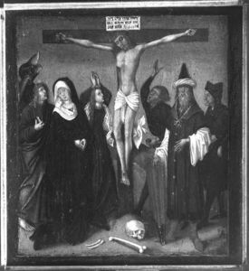 Hans Holbein The Elder - Christus am Kreuz