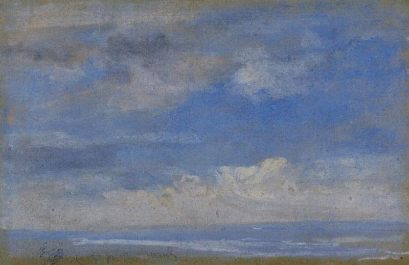 Achat Reproductions D'art | nuages de Eugène Louis Boudin (1824-1898, France) | WahooArt.com
