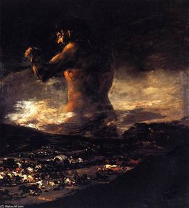 Francisco De Goya - le colosse