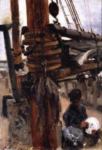 John Singer Sargent - Boy de The Cook