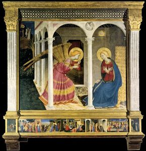 Fra Angelico - Le Cortona Retable ( l annonciation )