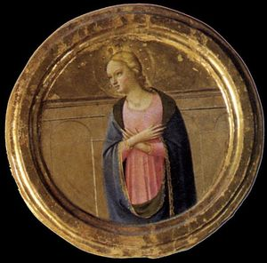 Fra Angelico - Cortona Polyptyque (détail)