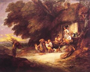 Thomas Gainsborough - Le Cottage Porte