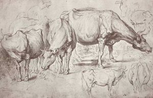 Peter Paul Rubens - vaches
