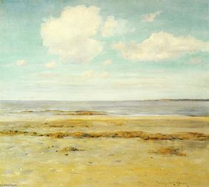 William Merritt Chase - La plage déserte