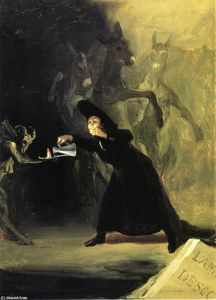 Francisco De Goya - Lampe de The Devil